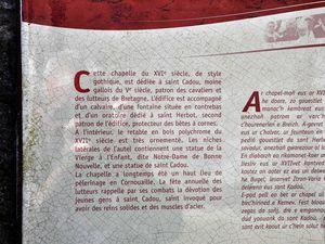 Chapelle de Bretagne : Saint-Cadou à Gouesnac'h