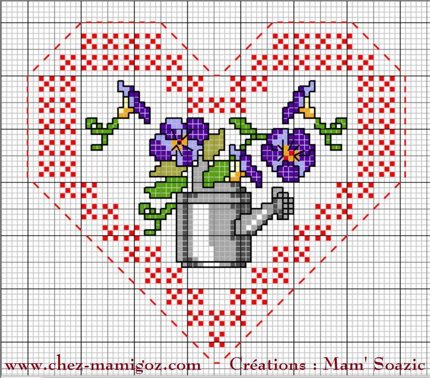 Cœur Valentin en attendant le printemps : face B