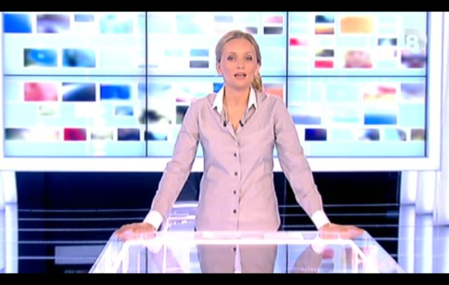 [2012 10 19] ADRIENNE DE MALLERAY - D8 - LE JOURNAL @19H50