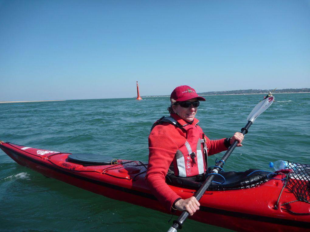 Navigation du mercredi 23 mars 2011. Le toulinguet, pique nique à Arguin et tour du banc.