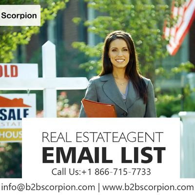 Where to Buy Real Estate Agent Email List?