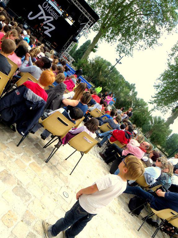 """""""Sur la route du blues"""", concert jeune public Place de Loire à Orléans"""