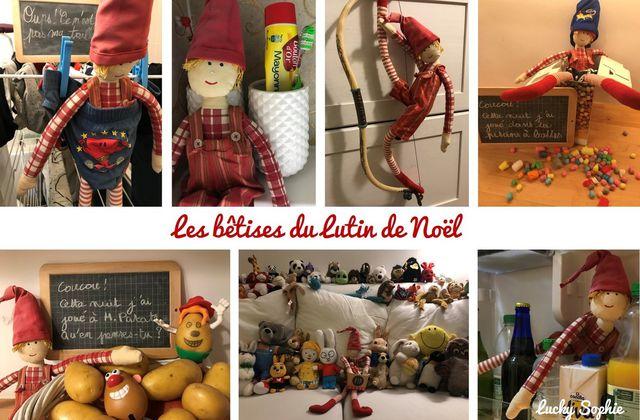 Bêtises du lutin de Noël : plus de 24 idées !