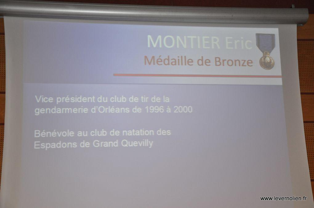 Remise des médailles de la jeunesse et des sports à la préfecture d'Evreux le 7 février 2014