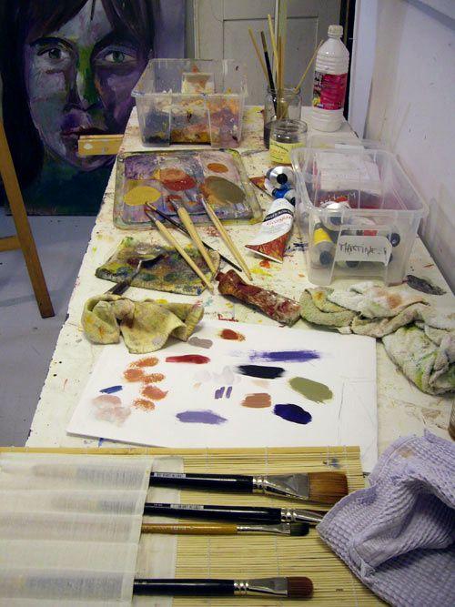 atelier libre, croquis de nus et atelier prépa