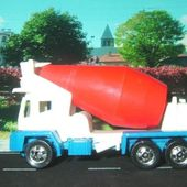 OSHKOSH CEMENT MIXER HOT WHEELS 1/64 - car-collector.net