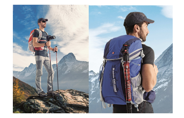 Une collection Off Road proposé par Manfrotto