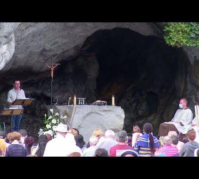 Messe de 10h à Lourdes du 12 août 2021