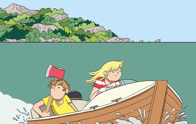 Stig & Tilde, tome 1 : L'île du disparu