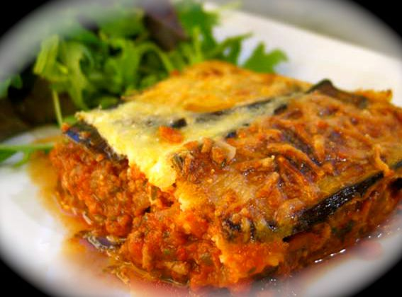 LA MOUSSAKA ... version traditionnelle