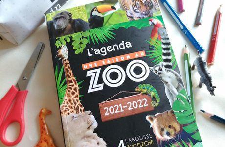 Princesse fera sa rentrée scolaire avec l'Agenda, Une saison au zoo 2021/2022
