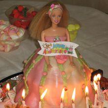 Gâteaux Barbie
