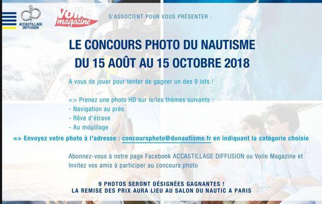 Attention - plus que 7 jours pour participer au concours photo Accastillage Diffusion - Voile Magazine