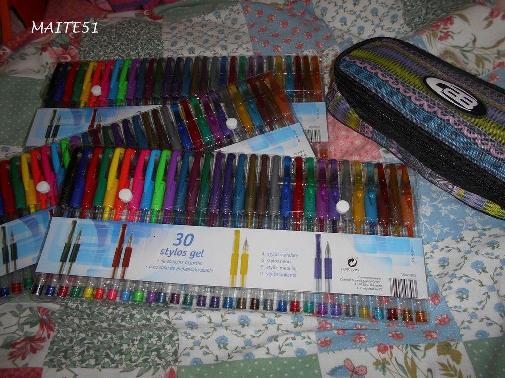Feutres & Crayons... !