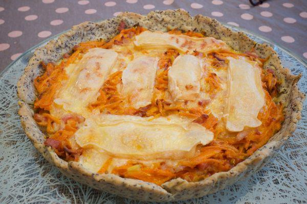Tarte carottes et petit Breton