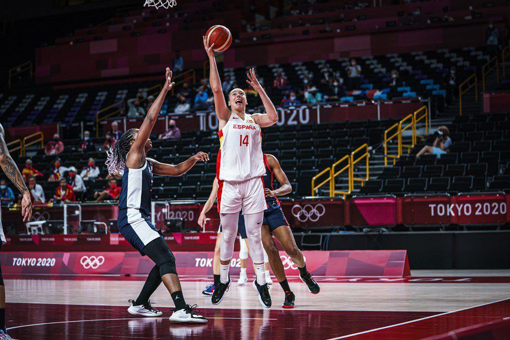 Jeux Olympiques : Décisive, Marine Johannès (18 points) propulse les Bleues en demi-finale en éliminant l'Espagne