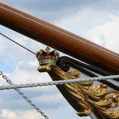 181 - Escale princière, H.D.M.Y. Dannebrog à Douarnenez, photos, Slor, Dragon de Johan Anker, Grand Prix Dragons à Douarnenez-Tréboul