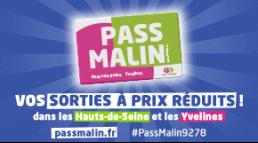 Le Pass Malin 2021 des Hauts-de-Seine et des Yvelines est disponible !