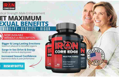 Iron Core Edge France Boostez l'endurance et la taille naturellement ici!