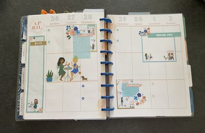Plan with Me: Classic happy planner_ Semaine 17 et 18