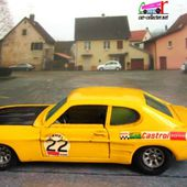 FORD CAPRI 2900 INJECTION SOLIDO 1/43 - car-collector