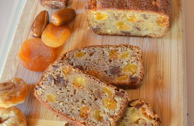 Banane Bread aux fruits secs (végan)