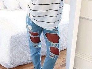 Les jeans déchirés, pourquoi je suis contre ? Mon coup de gueule !