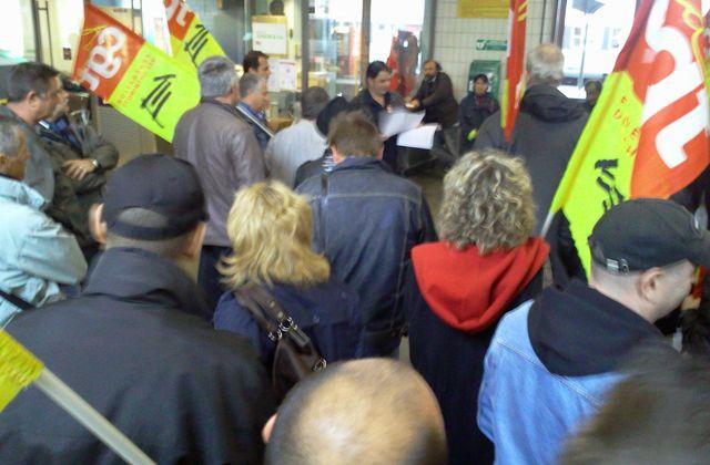 Les cheminots CGT dénoncent la situation inacceptable de la Gare de Béziers