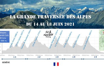 la Gde Traversée des Alpes ... le compte à rebours à commencé