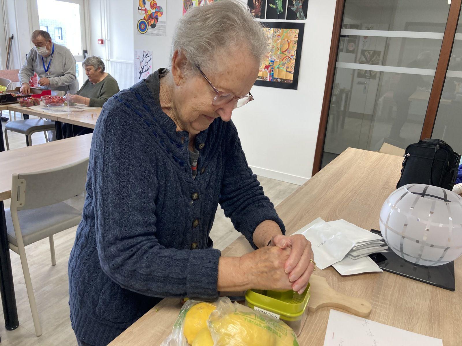 Atelier confitures de fraises