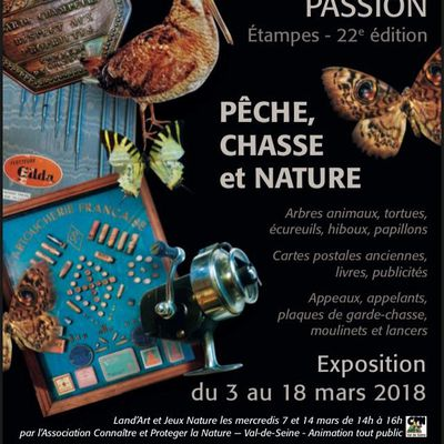 22e Expo Collection-Passion 2018:  Pêche, chasse et nature