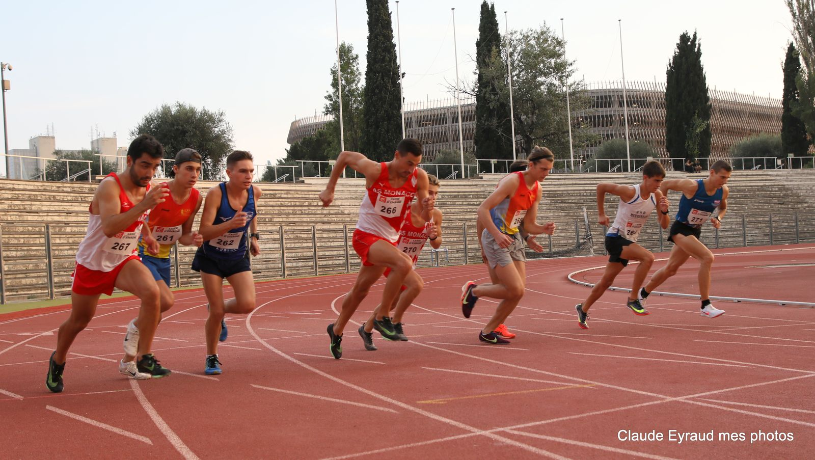 SOIREES NCAA  les 400 et 1500 metres