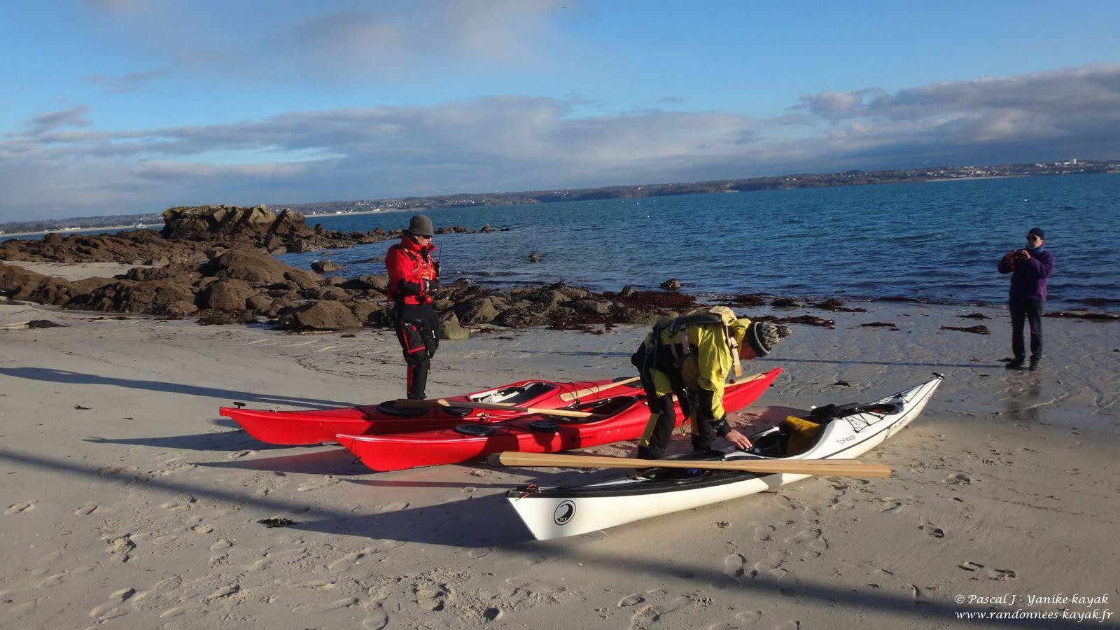 Baie de Concarneau : navigation hivernale