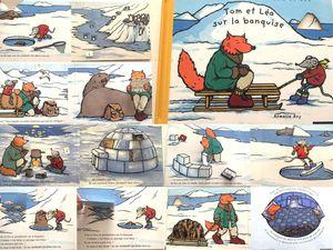 livre enfant  Tom et léa sur la banquise d'armelle boy  Nathan sur charlotteblablablog
