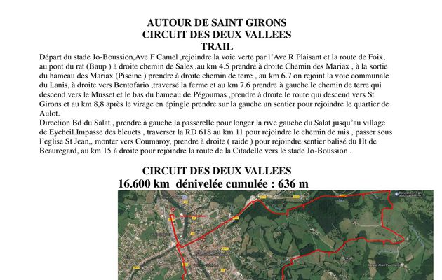 Sortie dominicale TOUT AUTOUR DE SAINT GIRONS