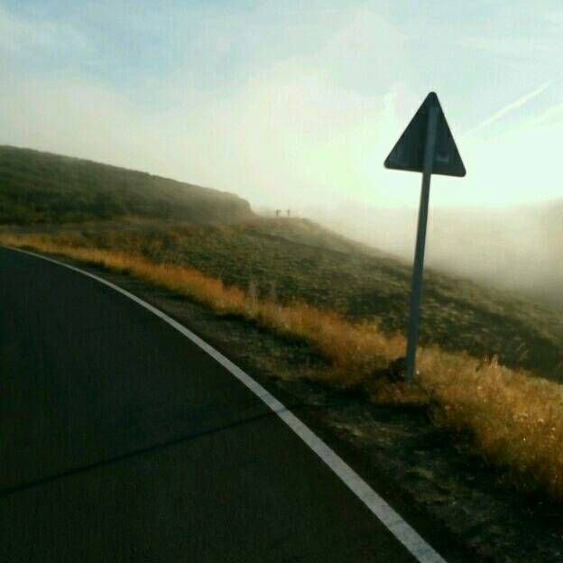 Du brouillard, du brouillard.... mais on y voit quand même.