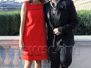 Bono avec la ministre de la culture Aurelie Filippetti. Cliquez sur les photos pour agrandir !
