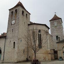 Eglise Saint Barthélémy , Lauzerte ( Tarn-et-Garonne 82 ) A