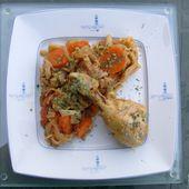 Cuisses de poulet au chou et carottes de Mamigoz - Chez Mamigoz
