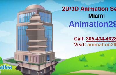 2D and 3D Animation Production Studio in Miami