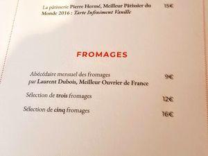 L'Amour et la folie (Paris 17) : restaurant de charme