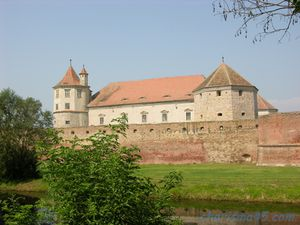 Citadelle de Fagaras, Roumanie en camping-car