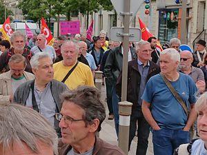 A Niort, des retraités en colère contre la hausse de la CSG et la baisse du pouvoir d'achat
