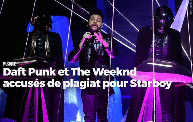 Daft Punk et The Weeknd accusés de plagiat pour Starboy (vidéos) #copie
