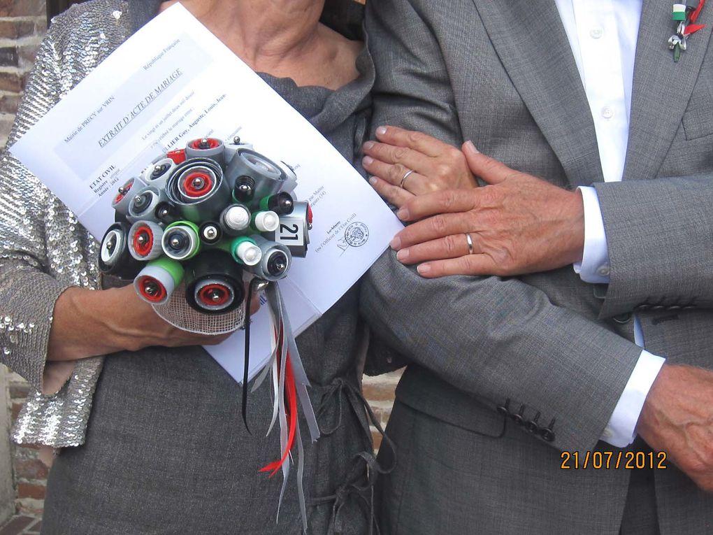 C'était le 21 juillet 2012... J'ai beaucoup travailllé à la déco dont le fil conducteur était bien évidemment... les capsules de café !