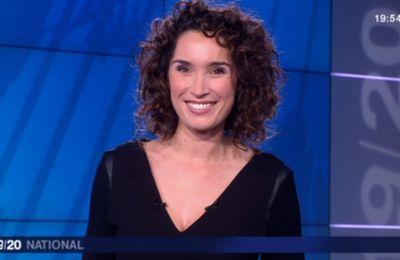 2012 12 26 - MARIE SOPHIE LACARRAU - FRANCE 3 - LE 19-20 NATIONAL @19H30