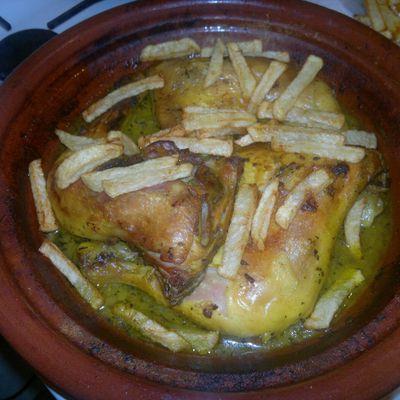 poulet frite a ma façon