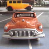 FASCICULE N°4 BUICK ROADMASTER DINKY TOYS 1/43 REPRODUCTION ATLAS - car-collector