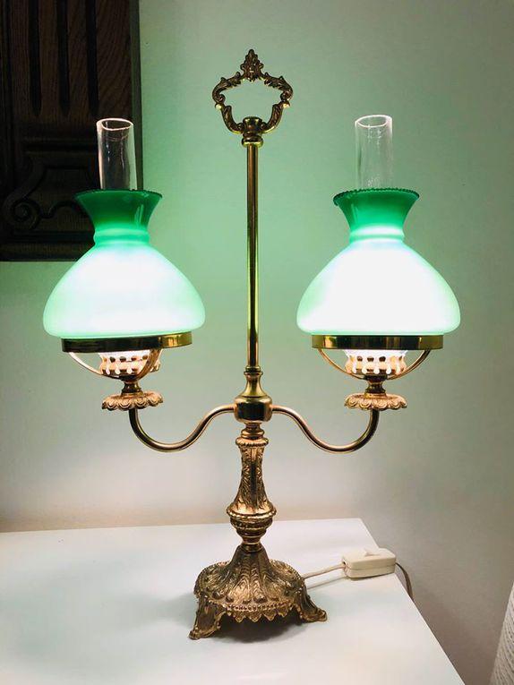 Lampe opaline (Vendu)