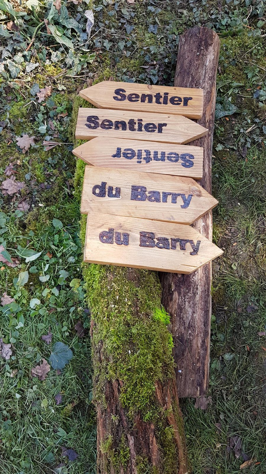 Cassagne - le sentier du Barry (4ème jour)